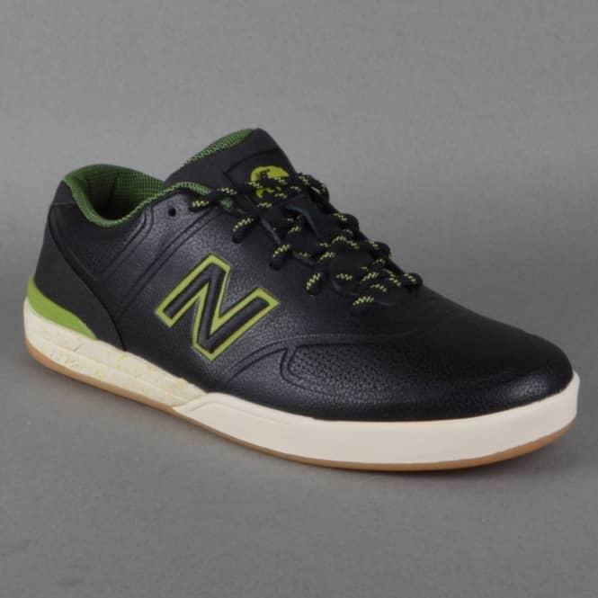 Logan 637 Levi Brown Skate Shoes Black AsphaltGreen