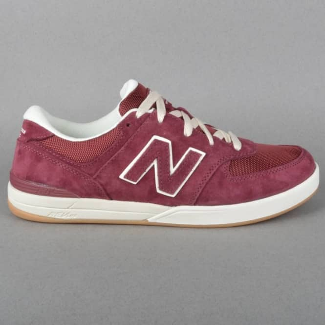 New Balance Numeric Logan-S 636 Skate Shoes - Pig Red Suede