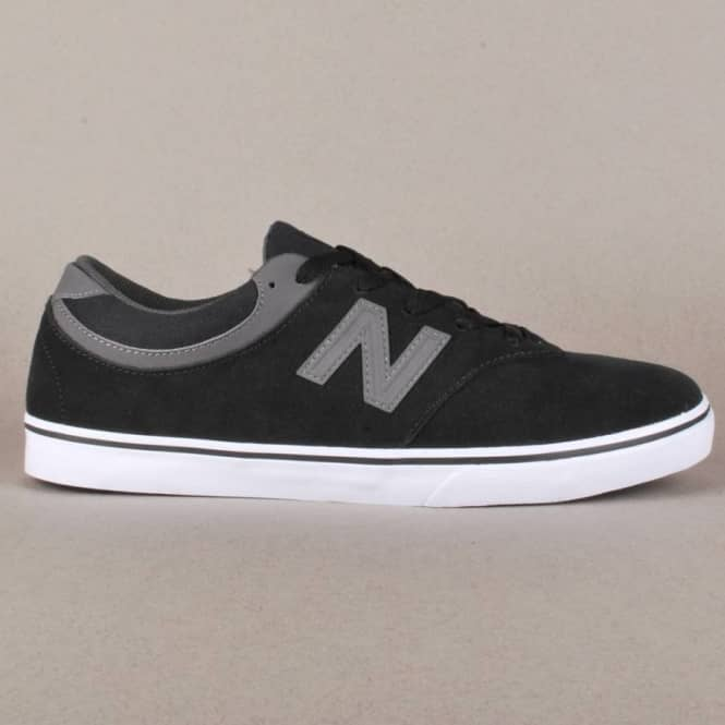 New Balance Numeric New Balance Numeric Quincy 254 Skate Shoes - Black/Magnet Grey