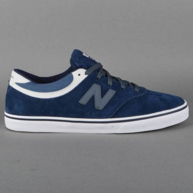 New Balance Numeric Quincy 254 Skate Shoes - Navy Suede