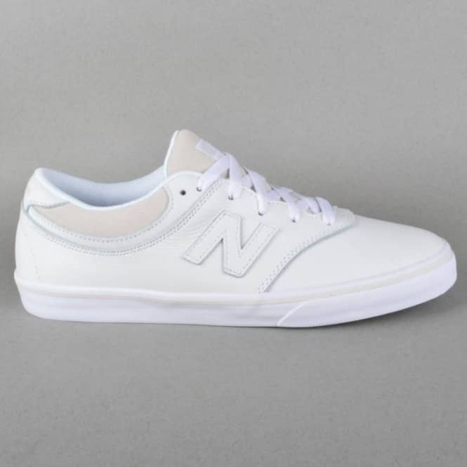 New Balance Numeric Quincy 254 Skate Shoes - White Leather