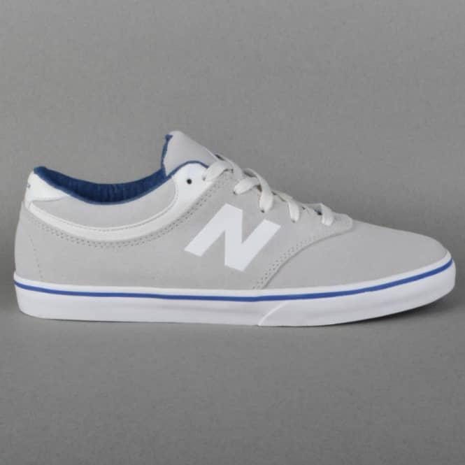 New Balance Numeric Quincy 254 Skate Shoes - White Suede Arto Saari