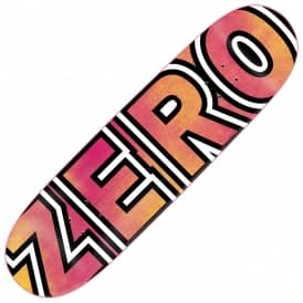 Zero Skateboards New Team Bold Pink/Yellow Skateboard Deck 8.625''