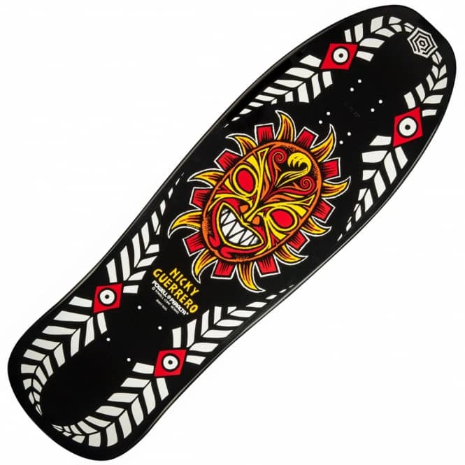 Powell Peralta Nicky Guerrero Mask Black Reissue Skaetboard Deck 10.0