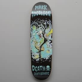 Nicolson Polluted Cave 90's Shape Skateboard Deck 8.75