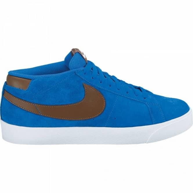 quality design b4613 ca5e0 Nike SB Nike SB Nike Blazer SB CS Blue Sapphire Dark Khaki Skate Shoes