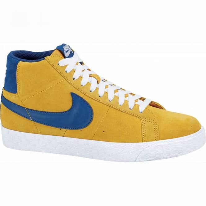 reputable site 0c5f9 1775d Nike SB Nike Blazer SB Gold Leaf Insignia Blue - Mens Skate Shoes from  Native Skate Store UK