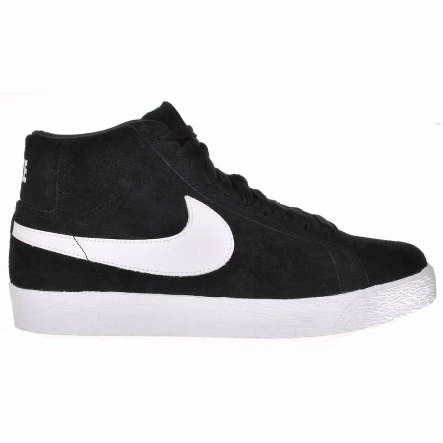 nike sb nike blazer sb skate shoes black white nike sb