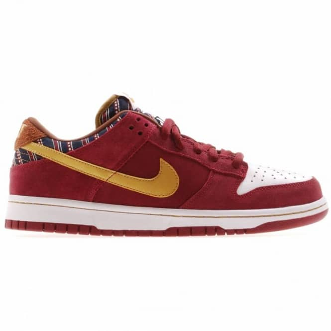 info for 81437 11317 Nike SB Nike Dunk Low Pro S.B. Team Red/Metallic Gold