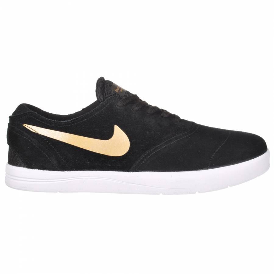 nike sb nike eric koston 2 skate shoes black metallic