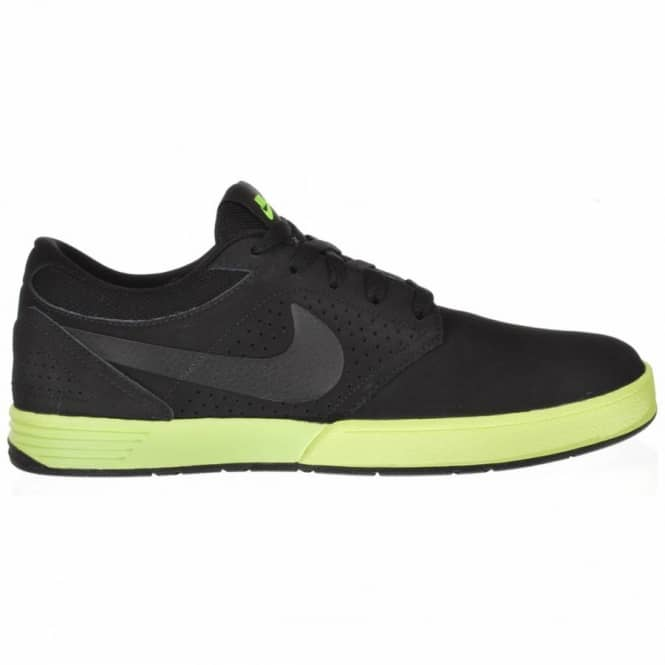 Nike SB Nike Paul Rodriguez 5 Black/Black-Volt Skate Shoes
