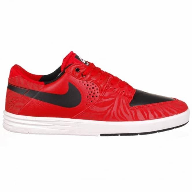 923d03b41072 ... Nike Paul Rodriguez 7 Premium Skate Shoes - University RedBlack White  ...