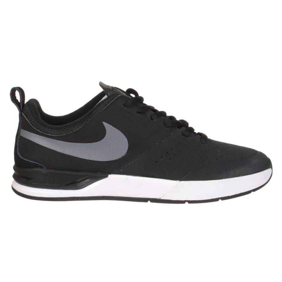 nike sb nike project ba skate shoes black grey