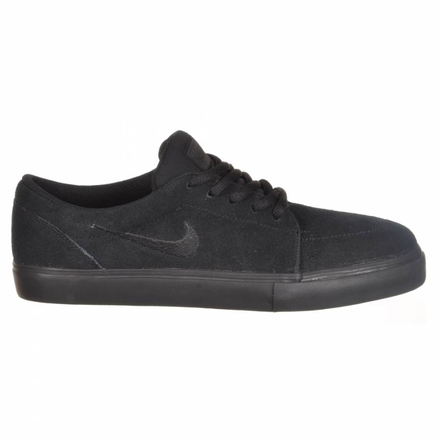 nike sb nike satire skate shoes black black nike sb