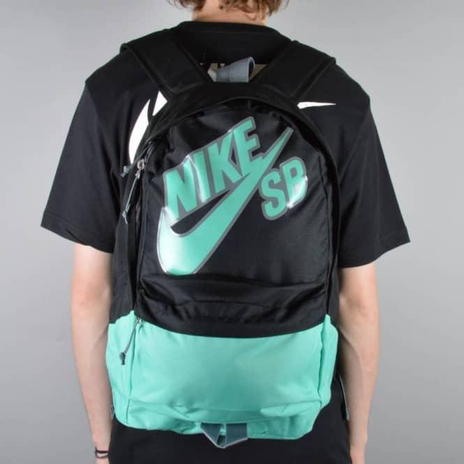 175643dee9 Nike SB 6.0 Piedmont Backpack - Black Cool Grey Crystal Mint - Skate ...