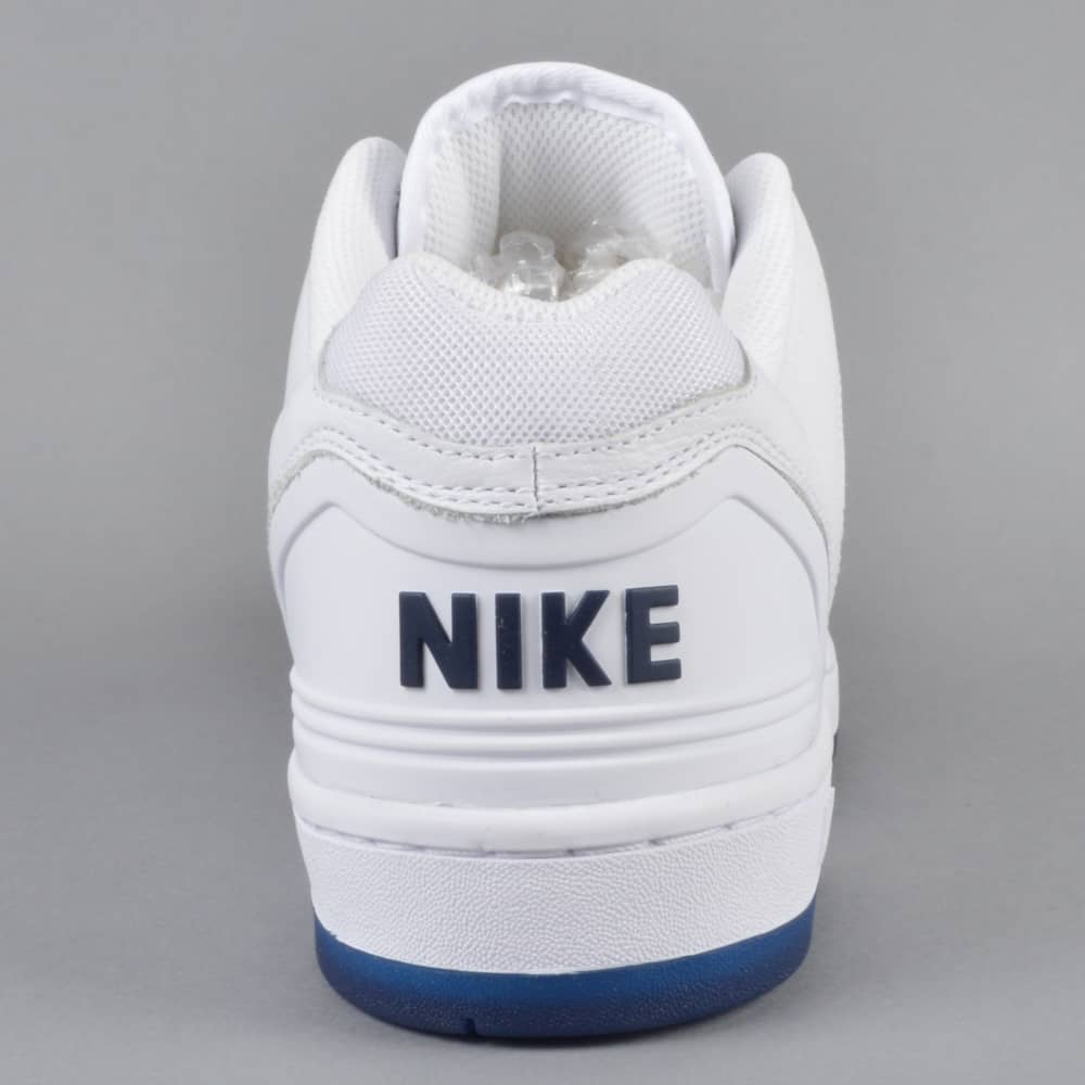 Air Force 2 Low QS Skate Shoes WhiteWhite Blue Void