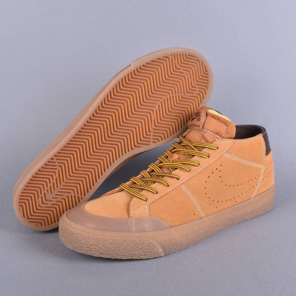 aa52d989e7504 Nike SB Blazer Chukka XT Premium Skate Shoes - Bronze Bronze-Baroque ...