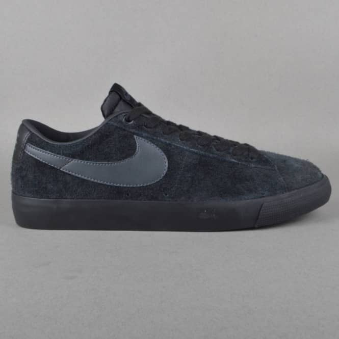 032a48800b3b6 Nike SB Blazer Low GT Skate Shoes - Black Anthracite - SKATE SHOES ...