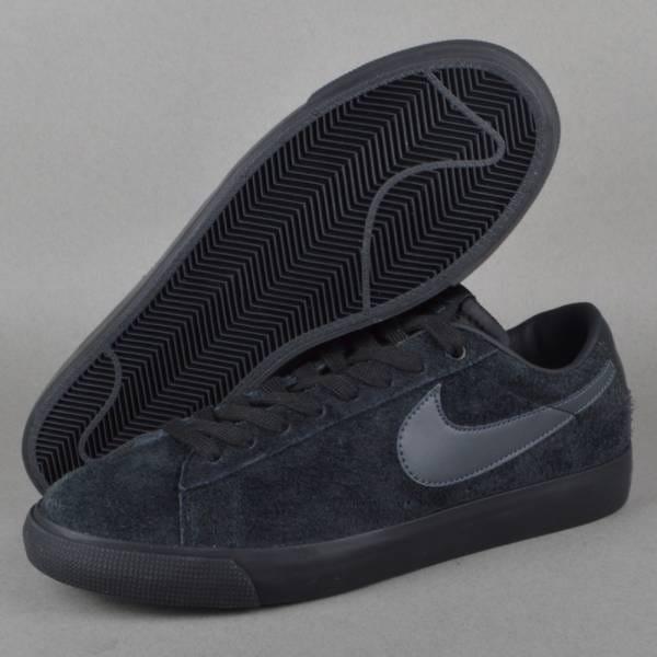 Nike Chaussures Basses Gt De Blazer Noir