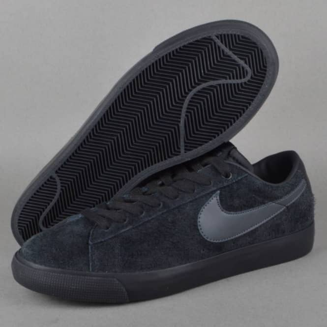 competitive price 80b76 3e98c Nike SB Blazer Low GT Skate Shoes - Black/Anthracite