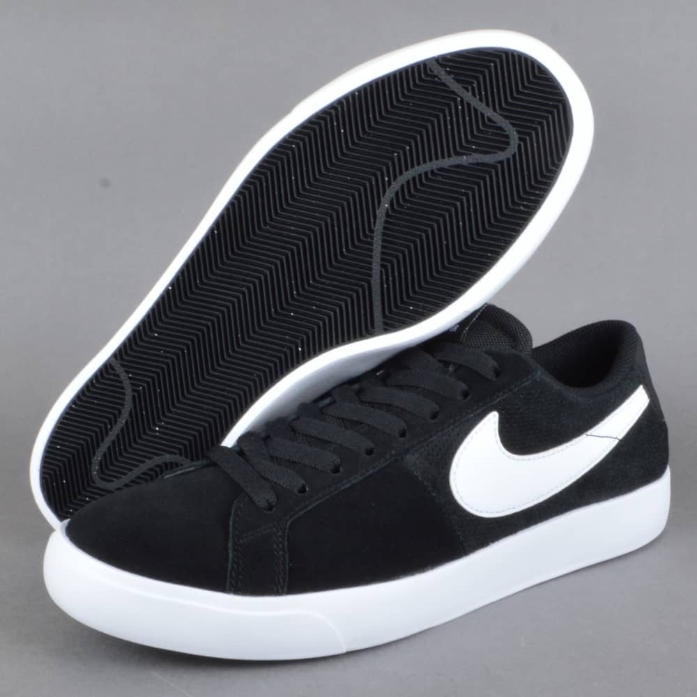 reputable site 4f523 a03ec Blazer Vapor Skate Shoes - Black/White