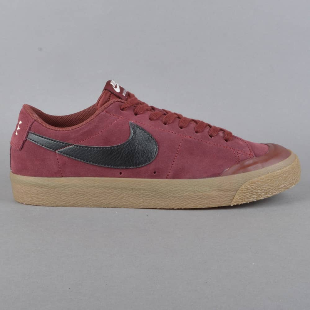 buy online 70634 0a73c Blazer Zoom Low XT Skate Shoes - Dark Team RedBlack