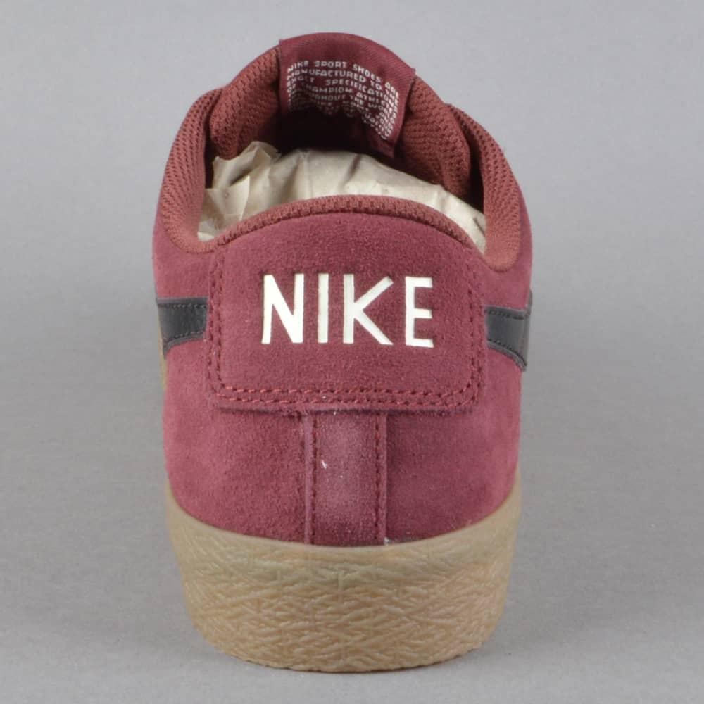 Nike Sb Blazer Zoom Low Xt 864348 609 Dark Team Rot