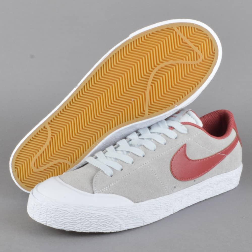 huge discount ade5c e8d69 Blazer Zoom Low XT Skate Shoes - Pure PlatinumCedar-White