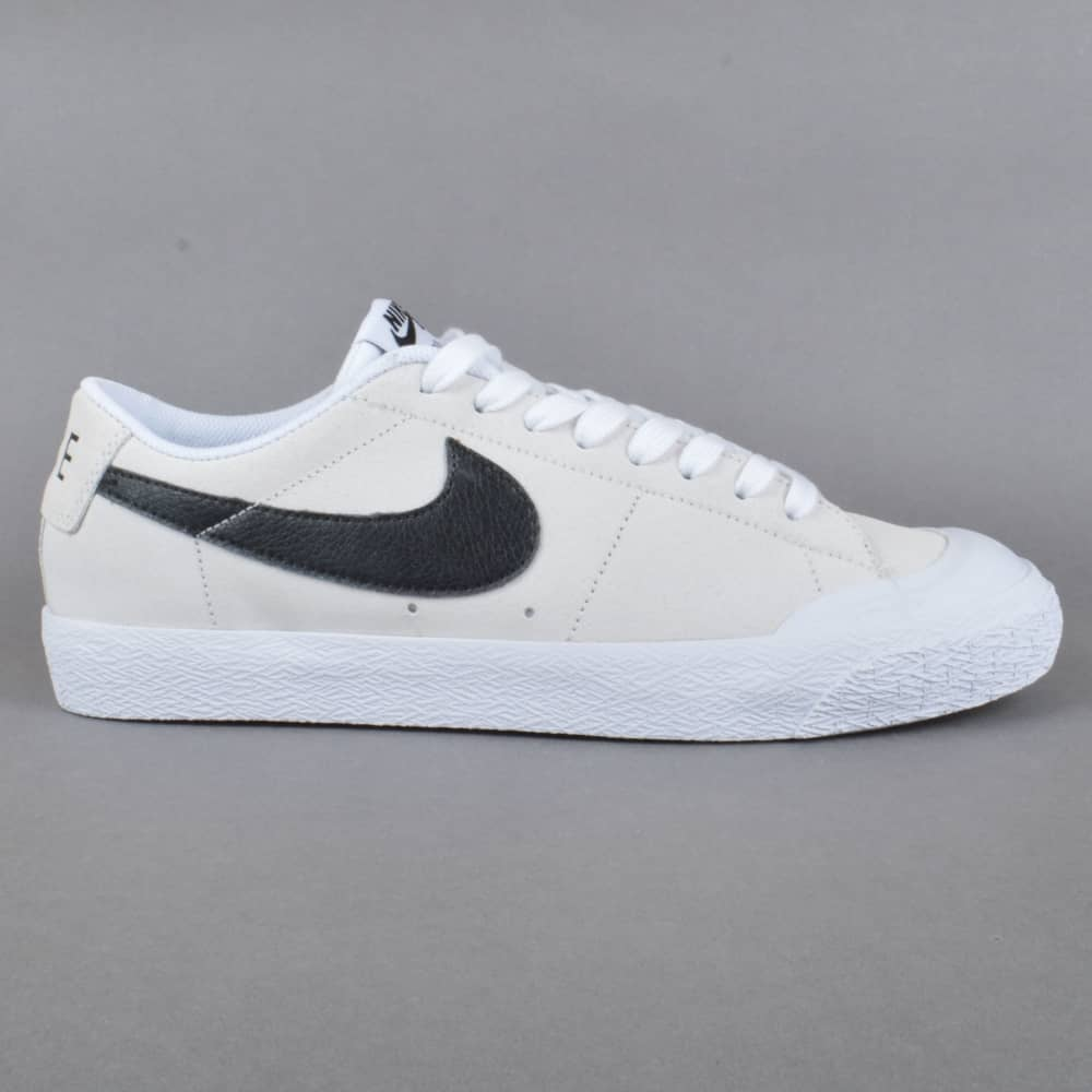 ddc742c61fc8 Nike SB Blazer Zoom Low XT Skate Shoes - Summit White Black-White ...