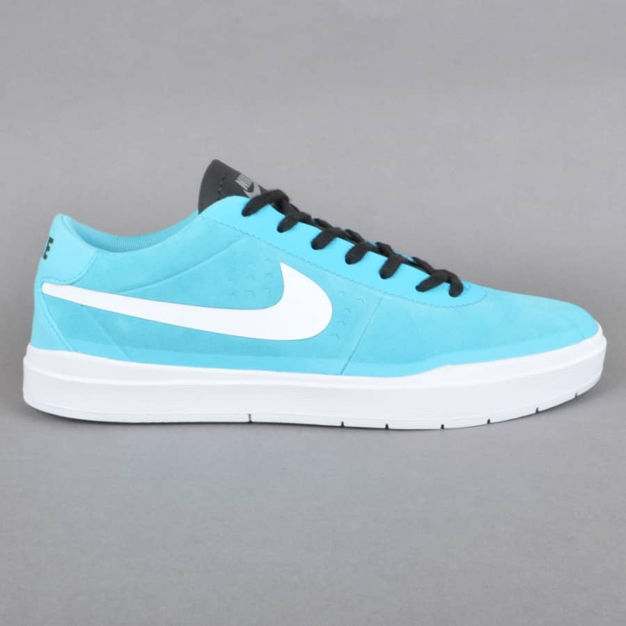 nike sb bruin sb hyperfeel skate shoes gamma blue white. Black Bedroom Furniture Sets. Home Design Ideas