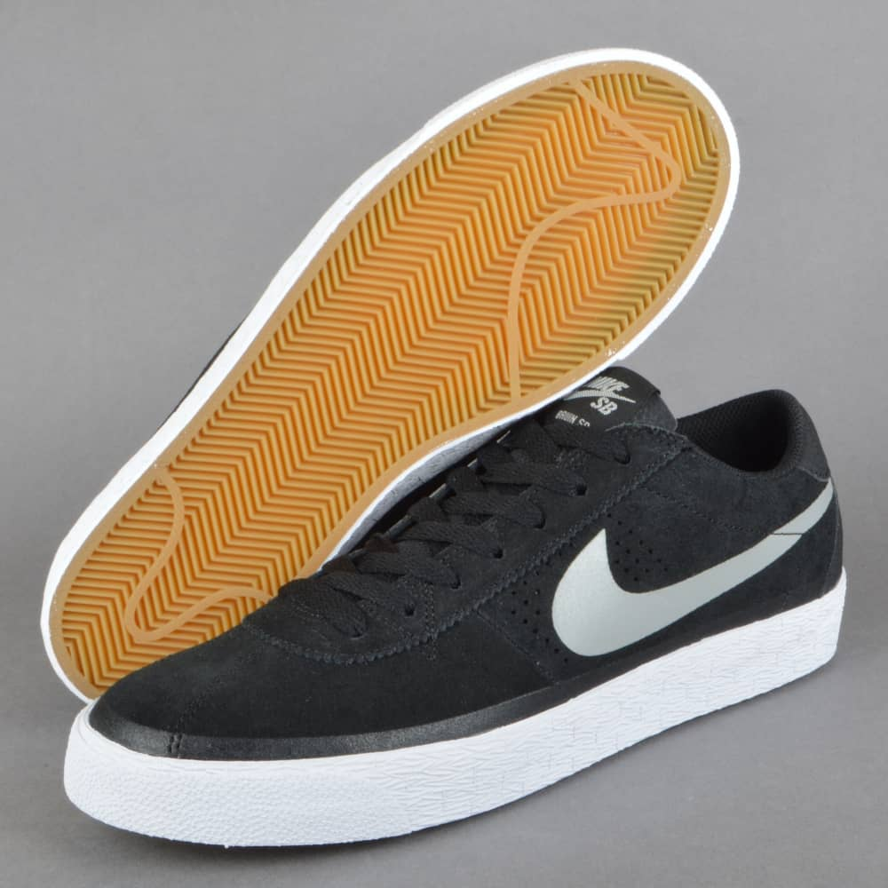 31a6fca1105e Nike SB Bruin SB Premium SE Skate Shoes - Black Base Grey-White-Gum ...