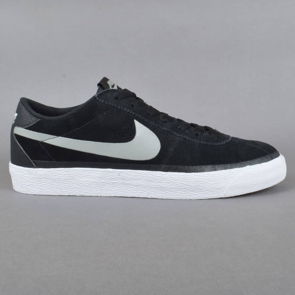42a430ca23d1 Nike SB Bruin SB Premium SE Skate Shoes - Black Base Grey-White ...