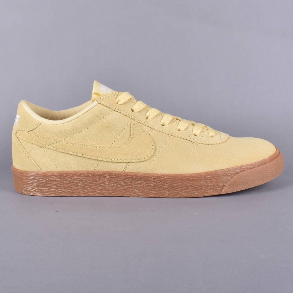 064178cdd6db Nike SB Bruin Zoom PRM SE Skate Shoes - Lemon Wash Lemon Wash-White ...