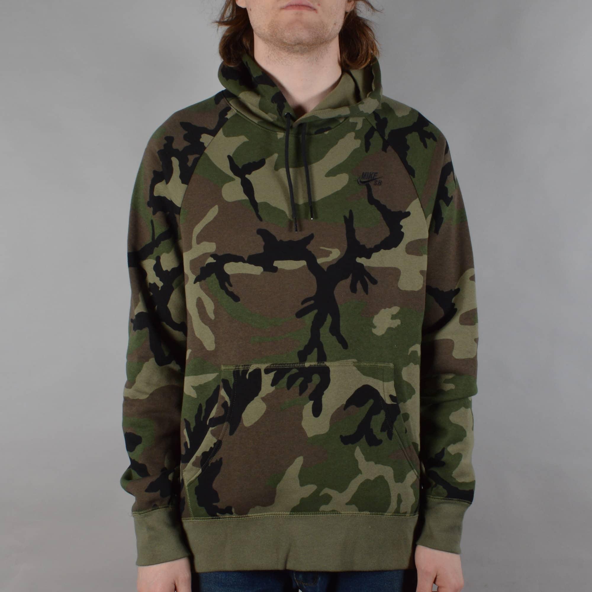 Nike SB Icon Camo Sweatshirt Medium