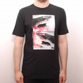 Nike SB Dark Waters Skate T-Shirt Black
