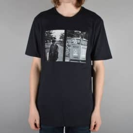 Daryl Trash Can Skate T-Shirt - Black