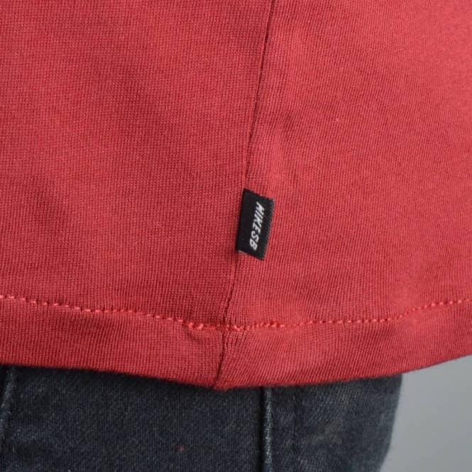 c790555dcc20 Nike SB Dri-Fit Brick Fill Skate T-Shirt - Team Red Team Red Sail ...