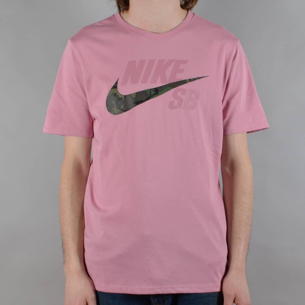 1af965ac05e7 Nike SB Dry DFC Camo Skate T-Shirt - Elemental Pink Elemental Pink ...