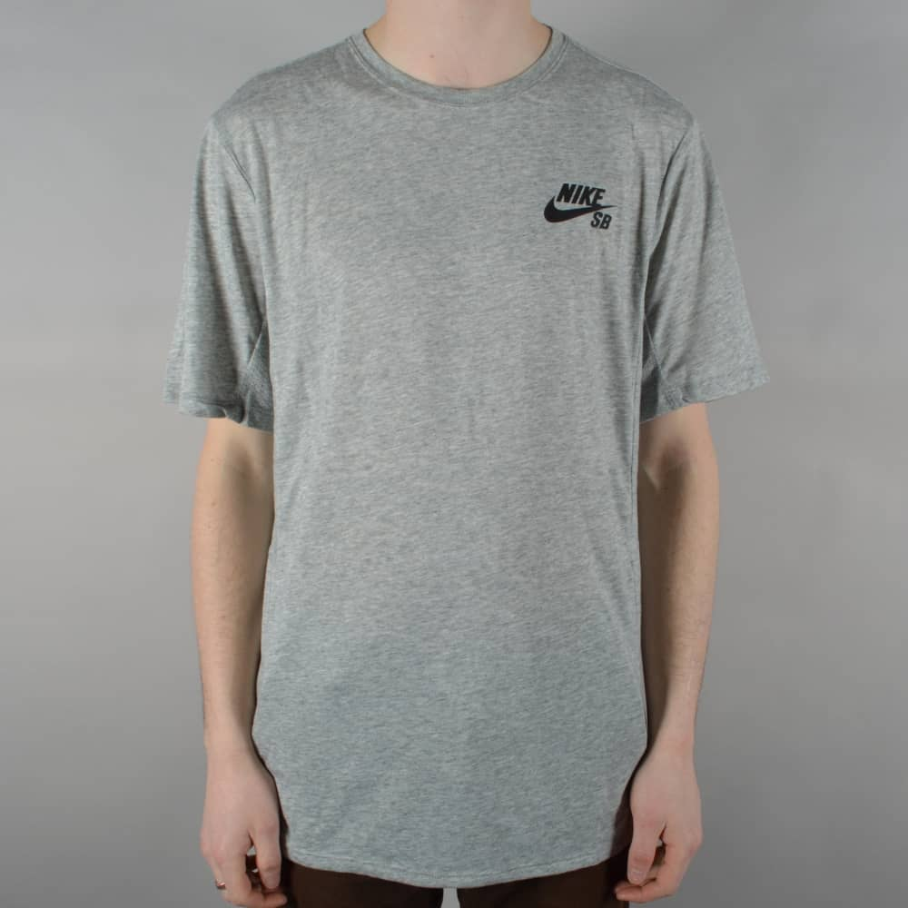 the latest good quality various styles Dry Skyline Skate T-Shirt - Dark Grey Heather/Black