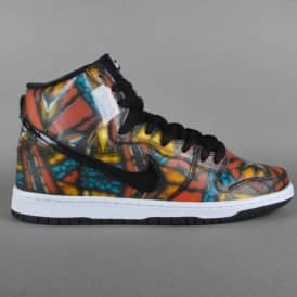 Dunk High Premium SB Skate Shoes - Concepts Stained Glass