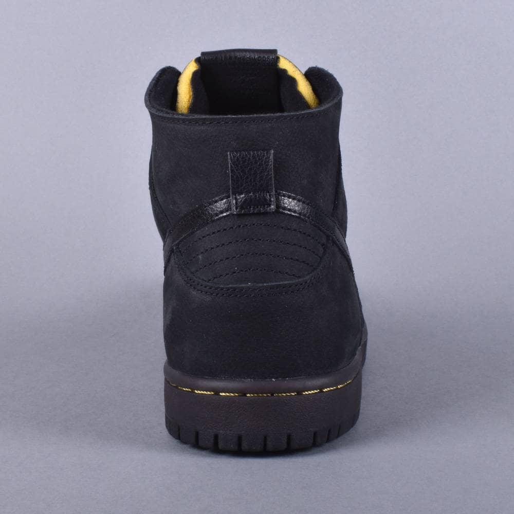 dfcdadb0d328 Nike SB Dunk High Pro Decon PRM Skate Shoes Black Black-Velvet Brown ...