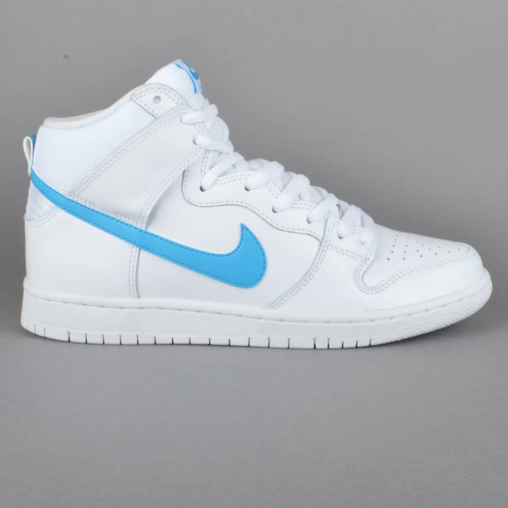 new product 482f6 21e54 Dunk High TRD QS Richard Mulder Skate Shoes - White/Orion Blue-White-White