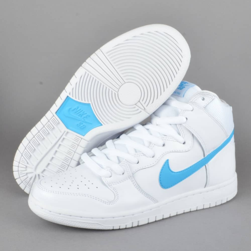 promo code ff52a cfad7 Dunk High TRD QS Richard Mulder Skate Shoes - White Orion Blue-White-