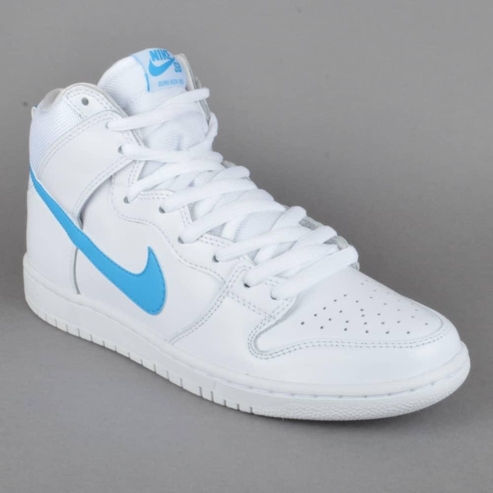 a61e814802d1 Nike SB Dunk High TRD QS Richard Mulder Skate Shoes - White Orion ...