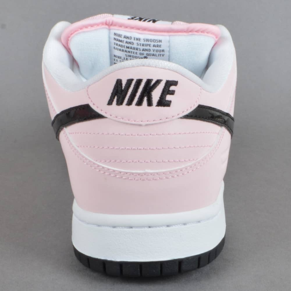 01417cfe0be1 Nike SB Dunk Low Elite SB - Prism Pink Black-White - SKATE SHOES ...