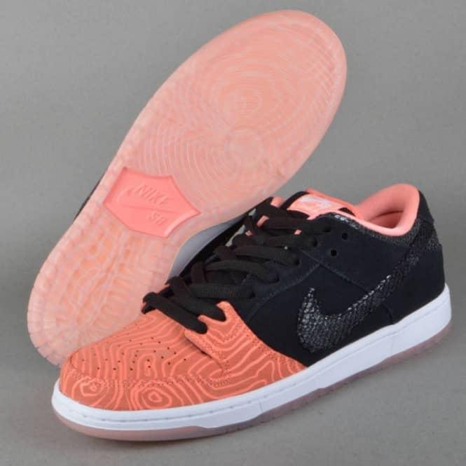 64e4d8472d32 Nike SB Dunk Low Premium SB Skate Shoe - Atomic Pink Black-White ...