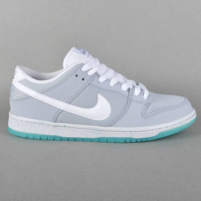timeless design b9261 311e6 Nike SB Dunk Low Premium Skate Shoes - Wolf Grey/White-LT Retro