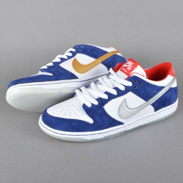 on sale 57a41 00143 ... mens skateboarding nike sb dunk low premium shoe in 99aaf bb5a4  coupon  for dunk low pro iw qs skate shoes deep royal blue metallic silver  university ...