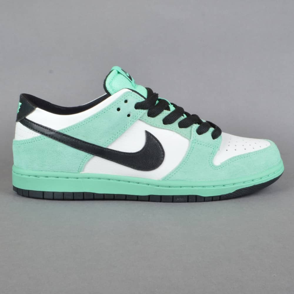 uk availability e6416 68a66 Dunk Low Pro IW Skate Shoe - Green Glow/Black- Summit White
