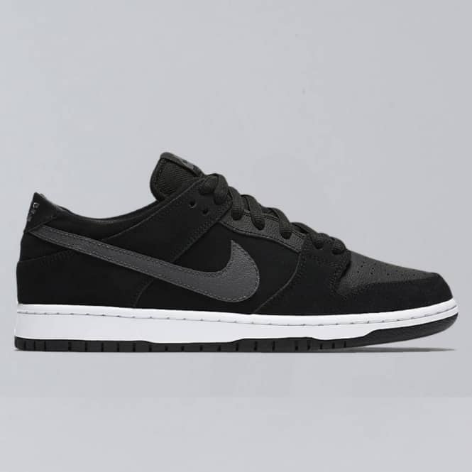 on sale 7da69 aee58 Nike SB Nike SB Dunk Low Pro IW Skate Shoes - Black LT Graphite-White